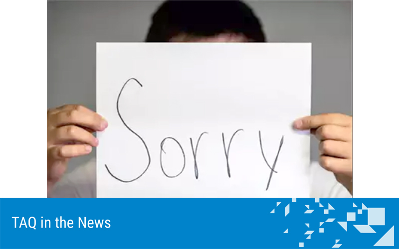 How to apologise the right way